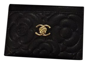 Chanel Chanel Camellia Card Holder