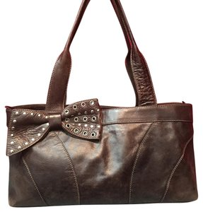 Roberta Satchel in Brown