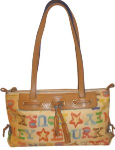 Dooney & Bourke Refurbished Monogram Coated Canvas Shoulder Bag