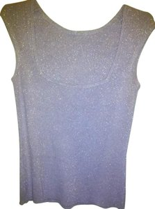 INC International Concepts Polyester Rayon Metallic Free Shipping Top Lilac