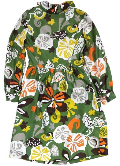 2f15fc49a1c5b J.Crew Dress Floral Print Silk Long Sleeve free shipping - kdb.co.ke
