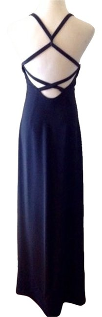 Preload https://item4.tradesy.com/images/giorgio-armani-navy-cross-strap-back-long-formal-dress-size-6-s-1990388-0-0.jpg?width=400&height=650