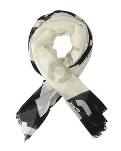 Rag & Bone Numerical Print Wool Scarf
