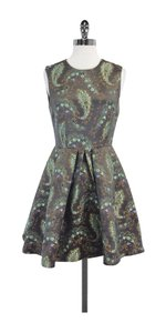 Cynthia Rowley short dress Paisley Print Fit & Flare on Tradesy