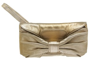 Valentino Gold Clutch