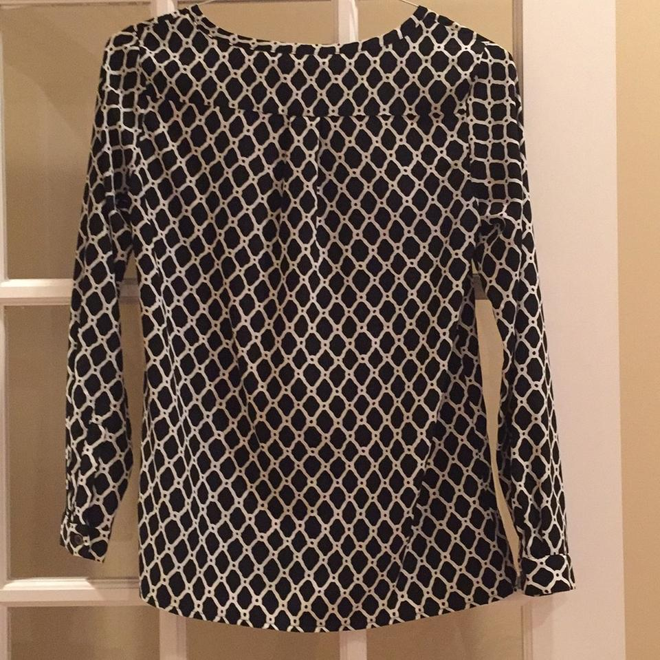 Gap black and white print top 75 off retail for Best black and white prints