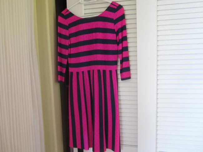Lilly Pulitzer short dress Pink / Navy on Tradesy