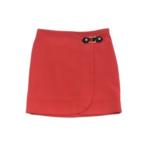 Marc by Marc Jacobs Dark Coral Waist Buckle Skirt