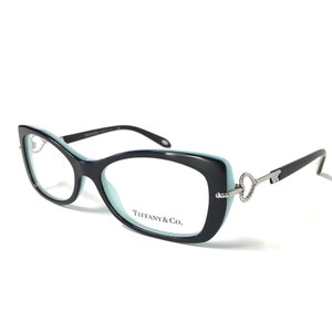 Tiffany & Co. Tiffany Co. Eyeglasses Black Teal with Silver Accents