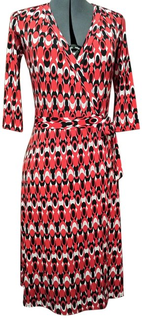 Preload https://item2.tradesy.com/images/red-black-white-wrap-ships-next-day-knee-length-short-casual-dress-size-4-s-1990411-0-0.jpg?width=400&height=650