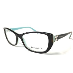 Tiffany & Co. Tiffany Co. Eyeglasses Tortoise Teal with Crystals