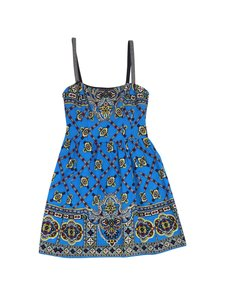 Nanette Lepore short dress Blue Multi Color Print on Tradesy