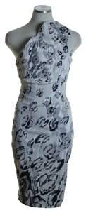Karen Millen Woven Floral Printed Sheath Dress