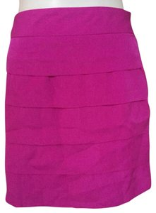 The Limited Mini Skirt Magenta Pink