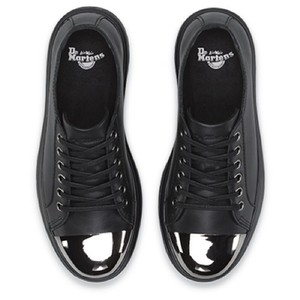 Dr. Martens Black, Silver Athletic