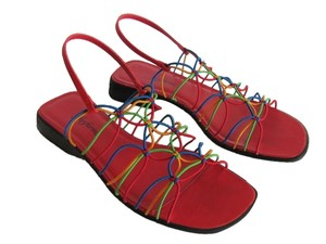 Fanfares Size 9m Very Good Condition RED, GREEN, BLUE, YELLOW Sandals