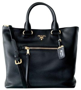 Prada Vitelo Phenix Shoulder Bag
