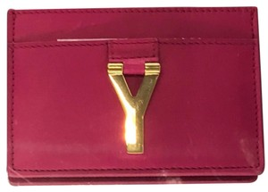 Saint Laurent Nwt Yline Credit Card Holder