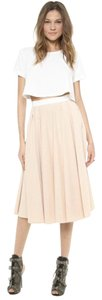 Torn by Ronny Kobo Skirt Pale nude pink