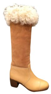 Chanel Winter Cold Weather TAN Boots