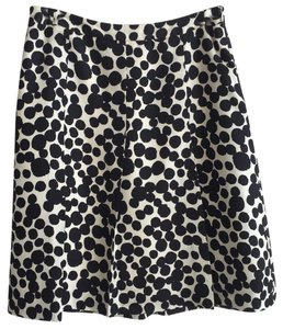 Banana Republic Skirt Black & Ivory