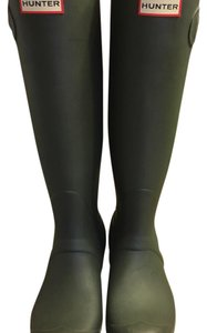 Hunter Olive Boots