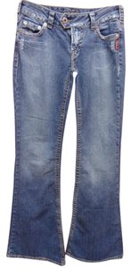 Silver Jeans Co. Tuesday Flare Leg Jeans-Medium Wash