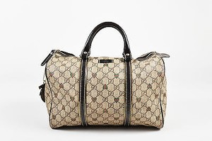 Gucci Shoppers Tote in Brown