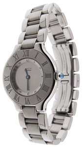 Cartier Authentic Ladies Cartier Must 21 Stainless Steel 28mm 1340 Watch