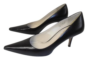 Coach Designer Classic Made In Italy Leather black Pumps