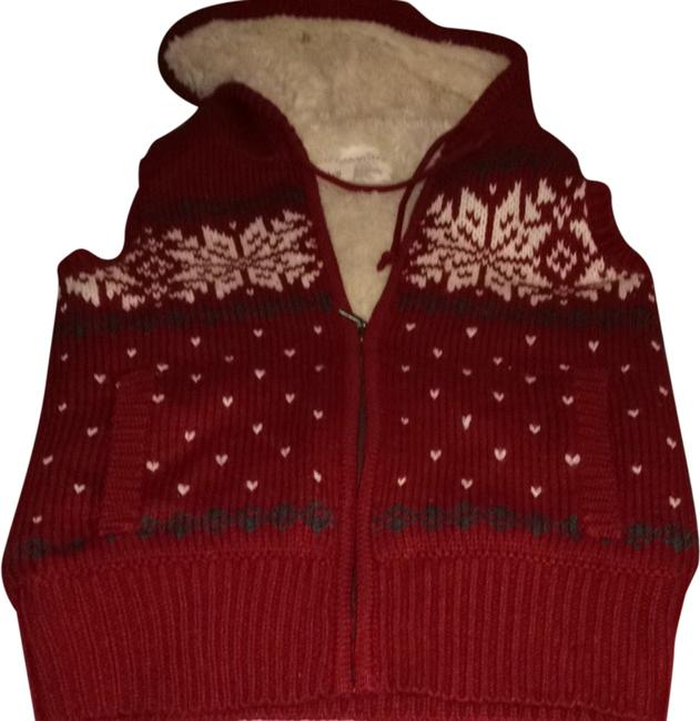 Preload https://item2.tradesy.com/images/aeropostale-red-with-cream-color-faux-fur-vest-1990516-0-0.jpg?width=400&height=650