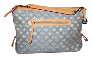 Dooney & Bourke Purse Tote Satchel in Blue Denim