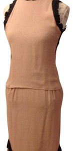 Fendi short dress Peach on Tradesy