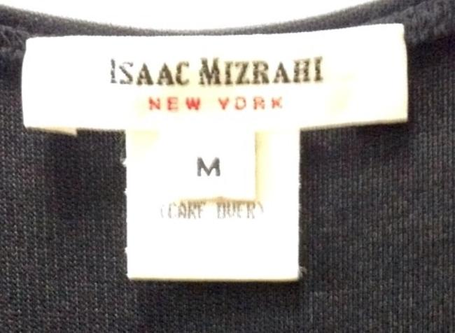 Isaac Mizrahi Long Stretch Fabric T-back Fitted Never Worn Dress