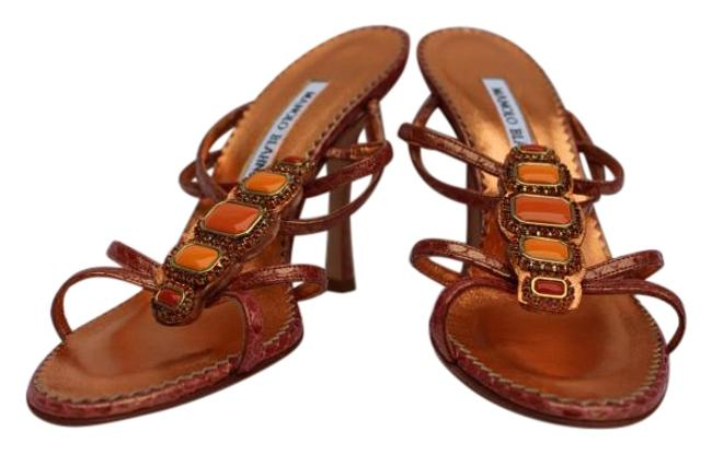 Item - Coral Snake Sandals Size US 6.5 Narrow (Aa, N)