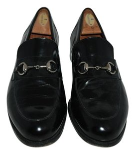 Gucci Leather Loafer black Boots