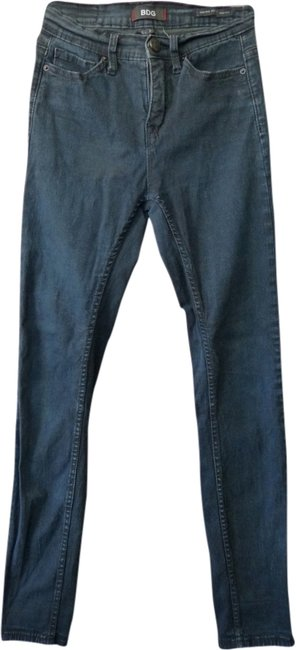 Preload https://item1.tradesy.com/images/bdg-black-dark-rinse-by-urban-outfitters-highrise-x-30-skinny-jeans-size-26-2-xs-1990585-0-0.jpg?width=400&height=650