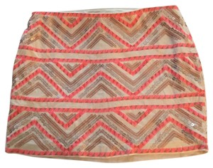 Express Mini Skirt Multi