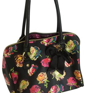 Betsey Johnson Satchel in Floral