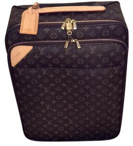 Louis Vuitton carry-on Brown Canvas Travel Bag