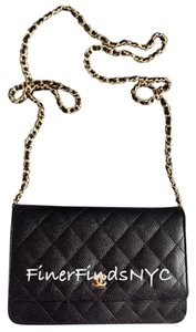 Chanel Caviar Wallet On Chain Shoulder Bag