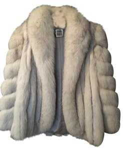 Saga Furs Fur Vintage Blue Fox Luxurious Excellent Condition Fur Coat