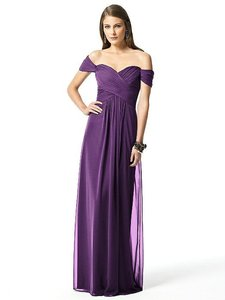 Dessy African Violet Dessy Collection Style 2844 Dress