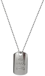 Tiffany & Co. Tiffany & Co 1837 Dogtag Pendant Necklace 18""