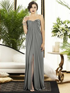 Dessy Charcoal Grey Dessy Collection Style 2879 Dress