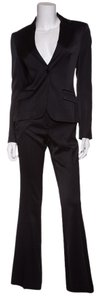 Theory Theory Black Satin 2 PC Suit