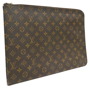 Louis Vuitton Louis Vuitton Brown Monogram Canvas 15