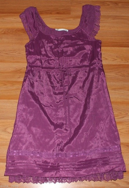 Maurices short dress Pink Blouson Lace on Tradesy