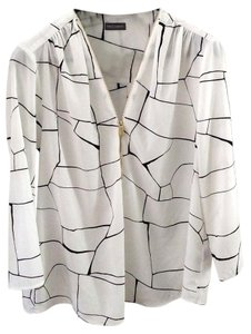 Vince Camuto Polyester Bold Artsy Top multi