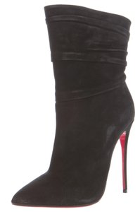 Christian Louboutin So Kate Pointed Toe Ankle Black Boots